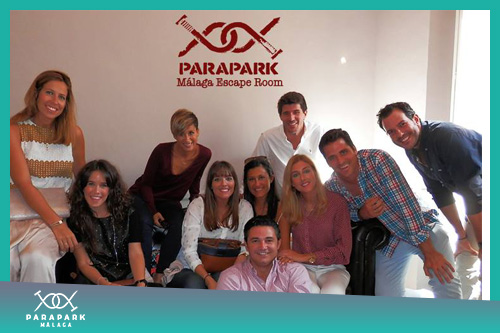 Despedida de soltero - Bachelor & Bachelorette Party - Málaga Parapark - Escape Room